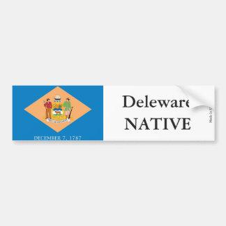 Deleware Native Bumper Sticker