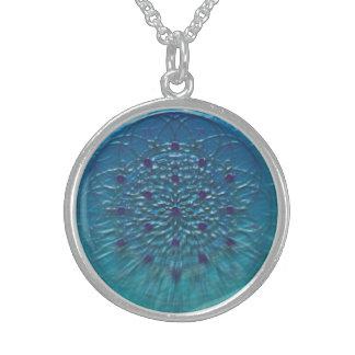 Delfinico code Water Sterling Silver Necklace