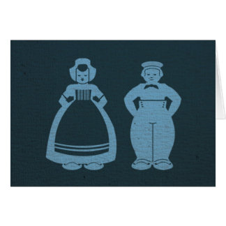 Delft Blue Two Notecard