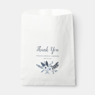 Delft Floral Personalized Favour Bag