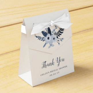 Delft Floral | Personalized Floral Favour Box