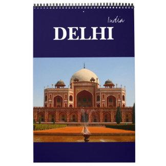 delhi india wall calendars