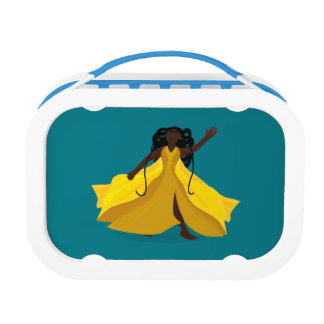 Delia in a Yellow Dress Lunch Box