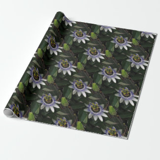 Delicate and Beautiful Passiflora Flower Wrapping Paper
