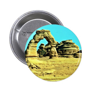 Delicate Arch - Arches National Park Pinback Buttons