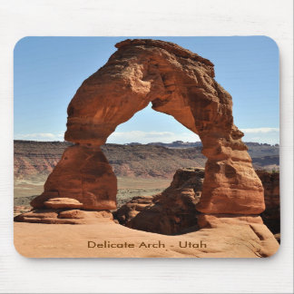 Delicate Arch - Arches National Park Mouse Pads
