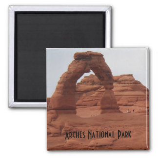 Delicate Arch- Arches National Park Square Magnet