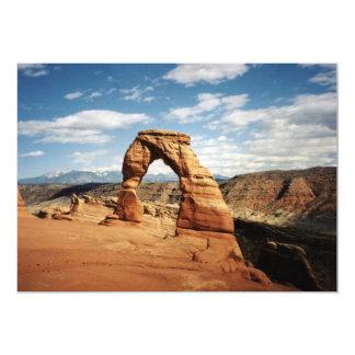 Delicate Arch, Arches National Park, Utah 13 Cm X 18 Cm Invitation Card