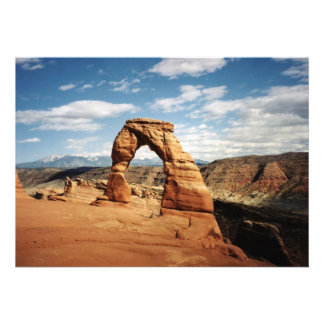 Delicate Arch, Arches National Park, Utah Personalized Invites