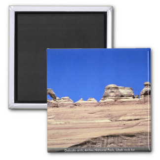 Delicate arch, Arches National Park, Utah rock for Fridge Magnet