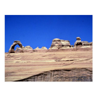 Delicate arch, Arches National Park, Utah rock for Post Cards
