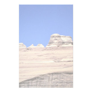 Delicate arch, Arches National Park, Utah rock for Stationery Design