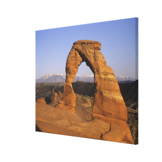 Delicate Arch, Arches National Park, Utah, USA 2 Gallery Wrap Canvas