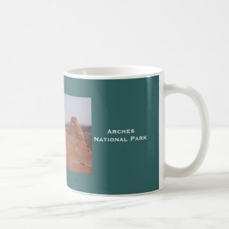 Delicate Arch, ArchesNat... Basic White Mug