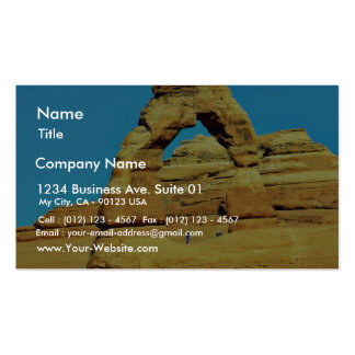 Delicate Arch At Arches National Park Business Card Template