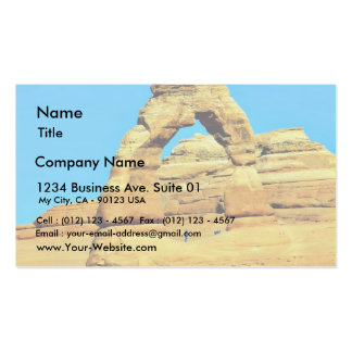 Delicate Arch At Arches National Park Business Cards