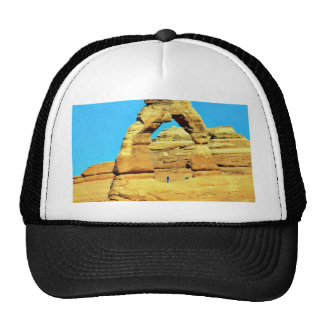 Delicate Arch At Arches National Park Mesh Hat