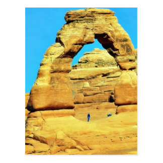 Delicate Arch At Arches National Park Post Card