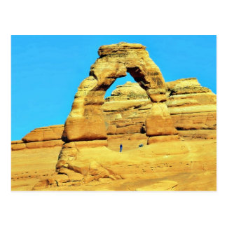 Delicate Arch At Arches National Park Postcard