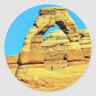 Delicate Arch At Arches National Park Sticker