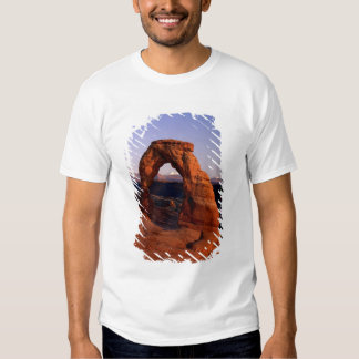 Delicate Arch at Sunset with snow covered La T-shirt