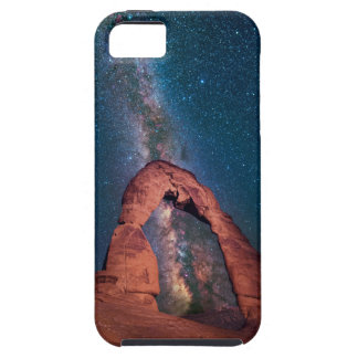 Delicate Arch / Blazing Milkyway iPhone 5 Covers