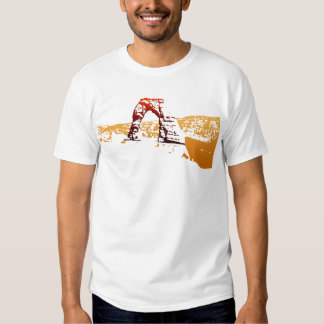 Delicate Arch Cut-out Shirts