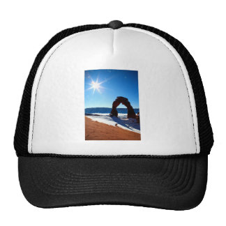 Delicate arch hats