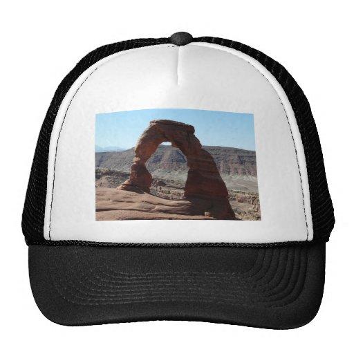 delicate arch trucker hats