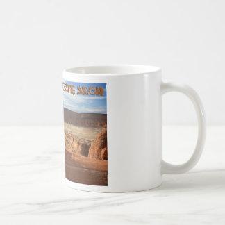 Delicate Arch, horizontal view Basic White Mug