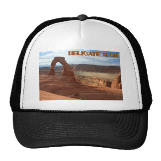 Delicate Arch, horizontal view Cap