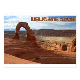 Delicate Arch, horizontal view Postcard