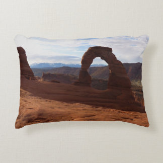 Delicate Arch I at Arches National Park Decorative Cushion