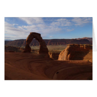 Delicate Arch II at Arches National Park Greeting Card