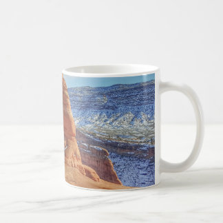 Delicate arch in Utah Arches National Park Coffee Mug