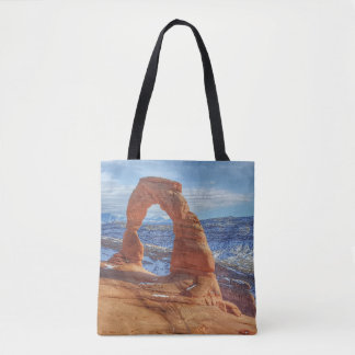 Delicate arch in Utah Arches National Park Tote Bag