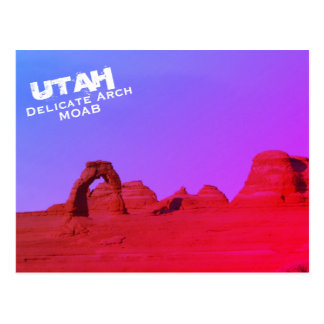 Delicate Arch, Moab, Utah, Arches National Park Postcard