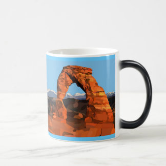 Delicate Arch Painting Mug