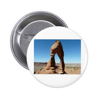 delicate arch side view pinback buttons