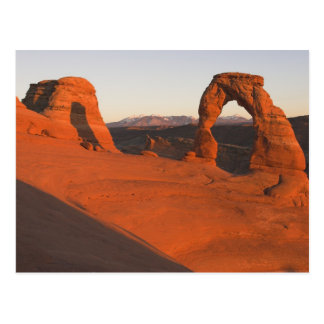 Delicate Arch Sunset... Postcard