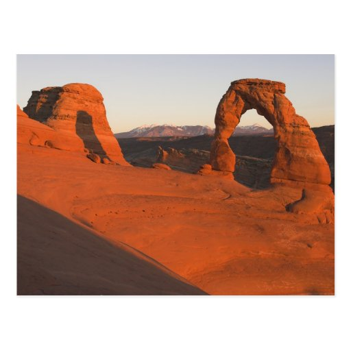 Delicate Arch Sunset... Post Cards