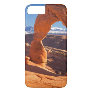 Delicate Arch With The Lasalle Mountains Beyond iPhone 7 Plus Case