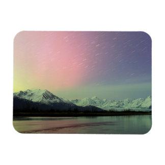 Delicate Aurora Vinyl Magnet