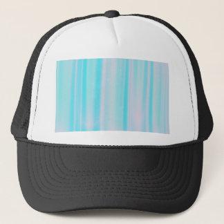 Delicate Blue Striped Trucker Hat