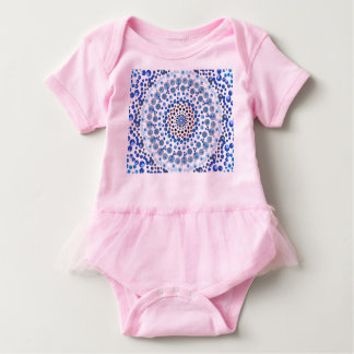 Delicate Blues Baby Bodysuit