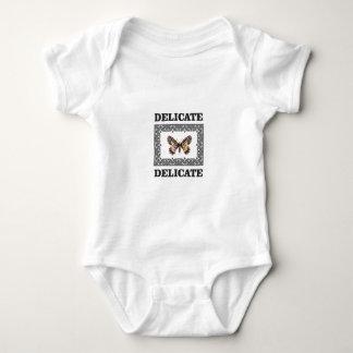 delicate butterfly art baby bodysuit