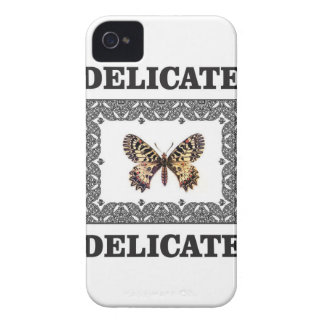 delicate butterfly art iPhone 4 Case-Mate case