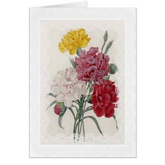 Delicate Dianthus Card