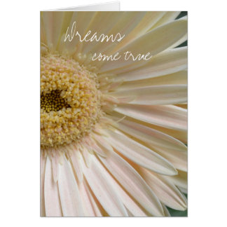 Delicate- Dreams come true Greeting Card