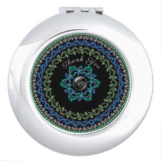 Delicate Filigree Circles, Elegant & Chic Design Mirrors For Makeup